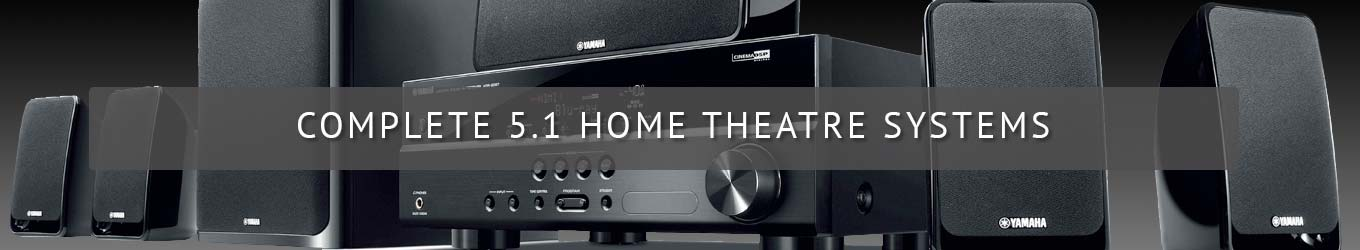 Complete 5.1 Home Theatre Systems