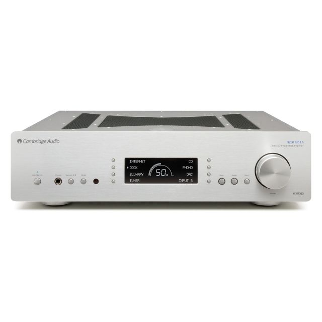 Cambridge Audio 851A Stereo Integrated Amplifier - Silver