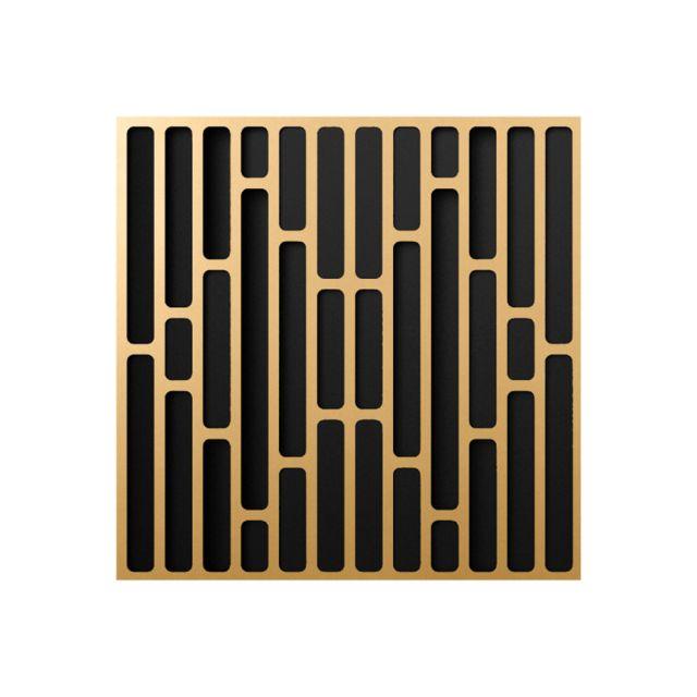 Artnovion Lugano Diffuser Acoustic Panel - Classic Gold