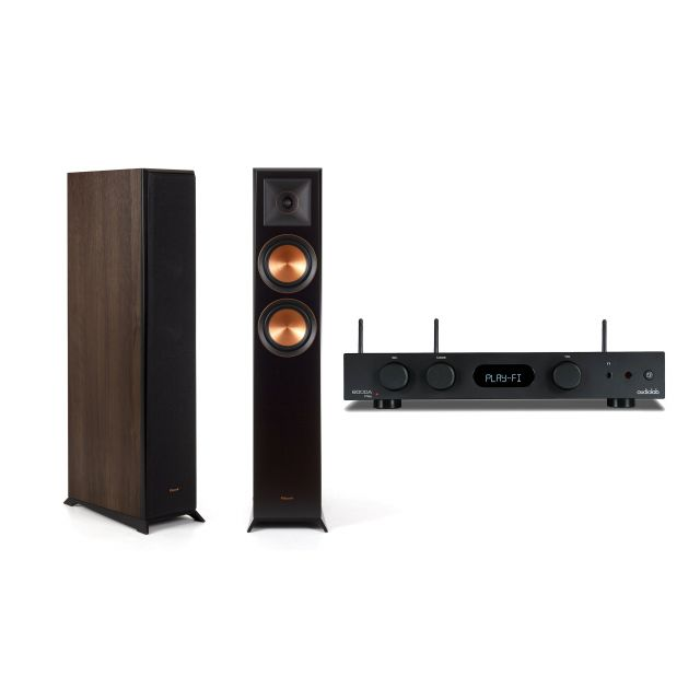 Audiolab 6000A Play Streaming Amplifier & Klipsch RP-5000F Speakers