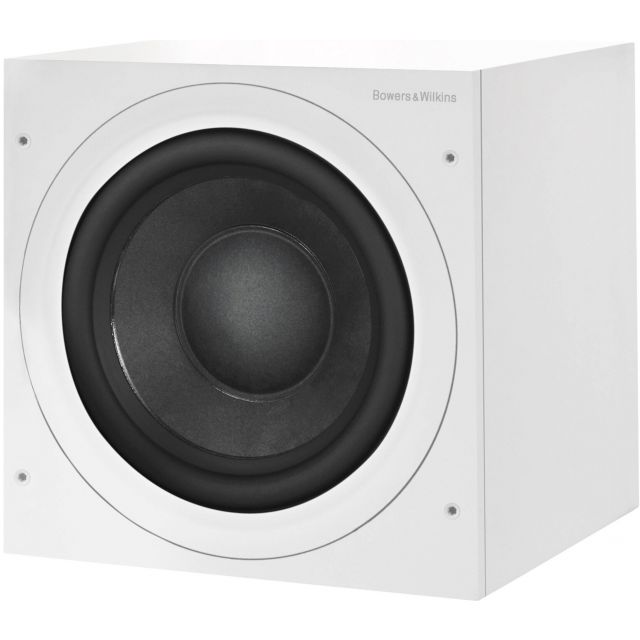 B&W ASW610 Subwoofer - Front angle view shown with grille off