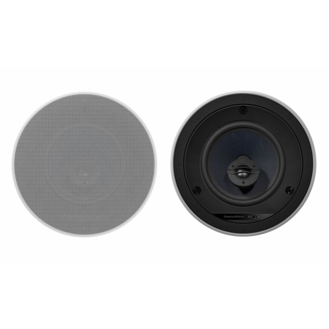 B&W CCM-663 In-Ceiling Speakers - Front view.