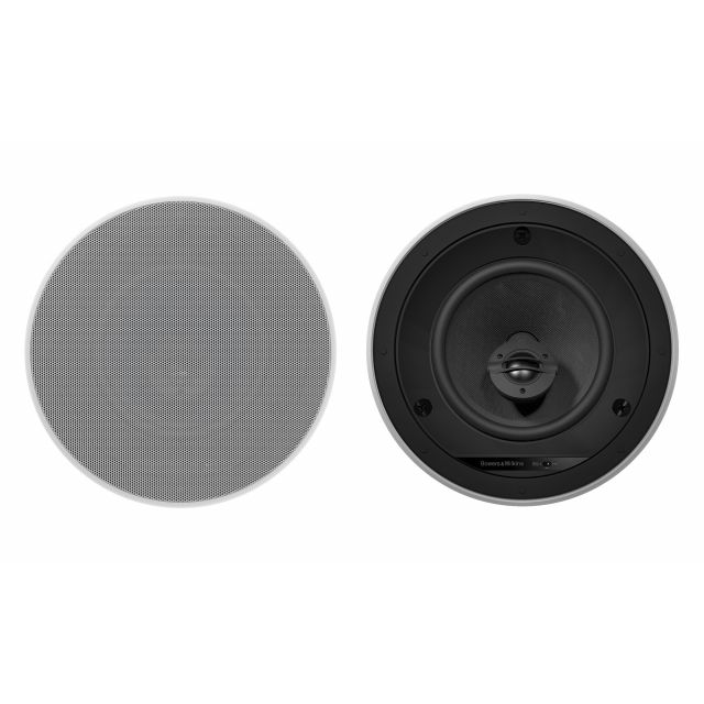 B&W CCM-665 In-Ceiling Speakers - Front view.