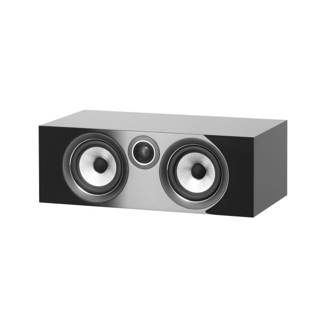 B&W HTM72 S2 Centre Channel Speakers - Front view with grille off