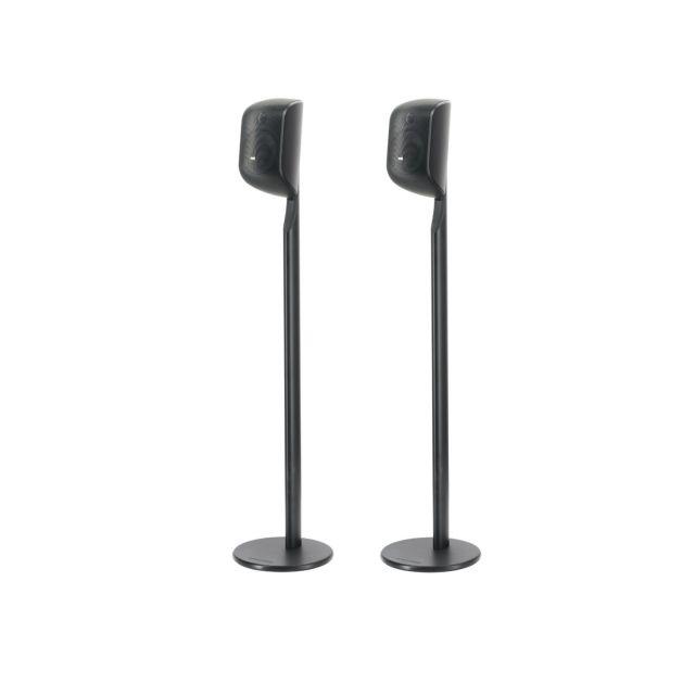 B&W M1 Speaker Stand (Black) - Front view.