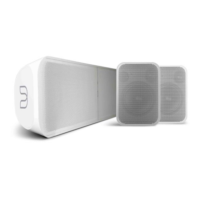 Bluesound Surround Audio System - Includes Bluesound Pulse Soundbar 2i and Flex 2i Speakers