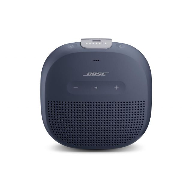 Bose SoundLink Micro Portable Bluetooth Speaker - Front view.