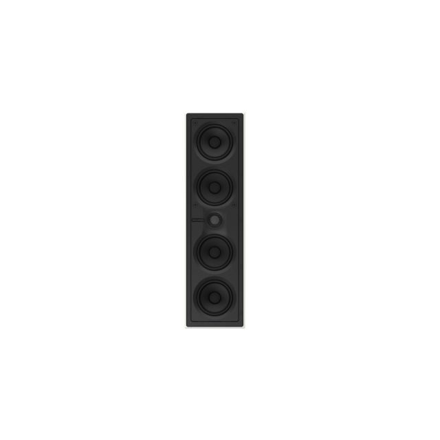 B&W CWM7.4 S2 LCR In-Wall Speaker - Shown without grille