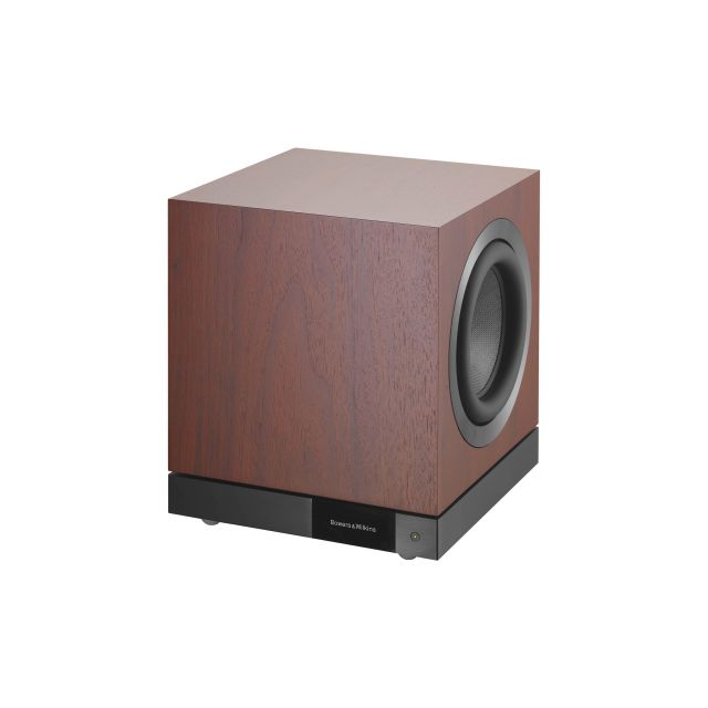 B&W DB3D Subwoofer - Angle view (front grille off)