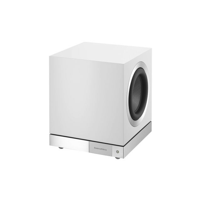 B&W DB3D Subwoofer - Angle view (grille off)