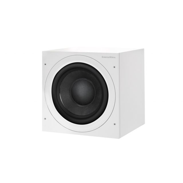 B&W ASW610XP Subwoofer - Front angle view shown with grille off