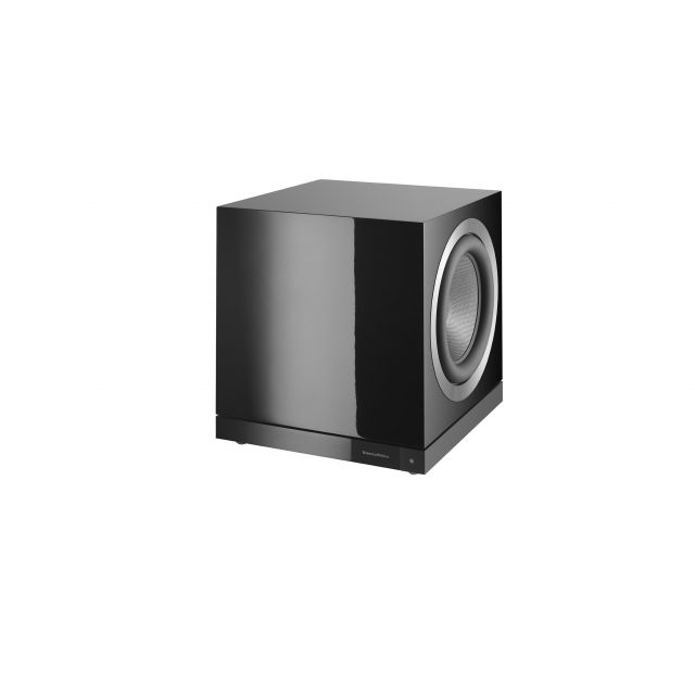 B&W DB2D Subwoofer - Angle view (grille off)
