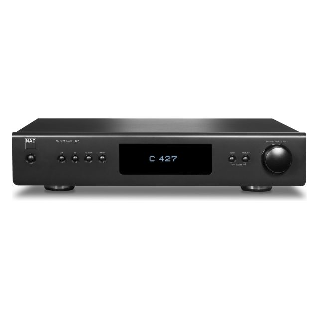 NAD C427 AM/FM Tuner - Front view.