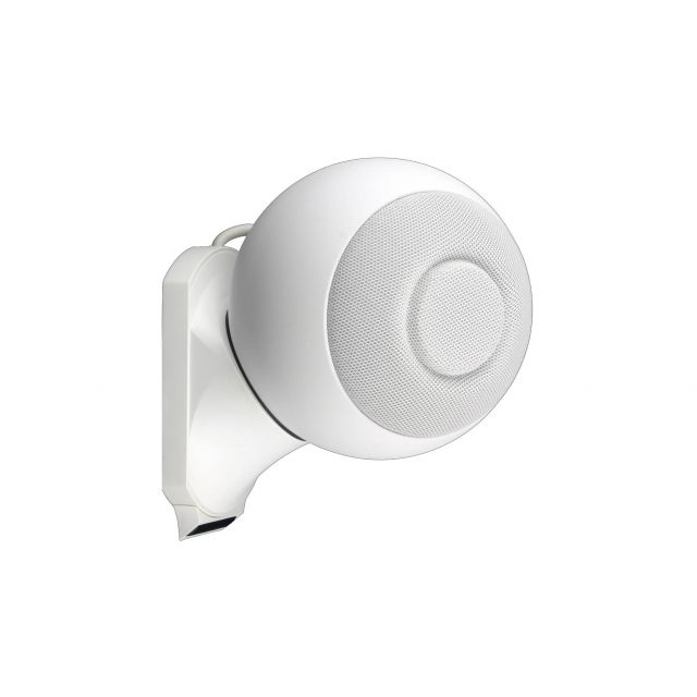 Cabasse iO2 On Wall Speakers - Angle view