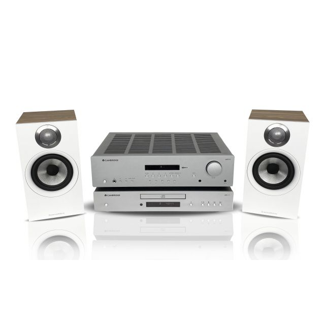 Cambridge Receiver and CD Player with B&W 607 S2 Series speakers