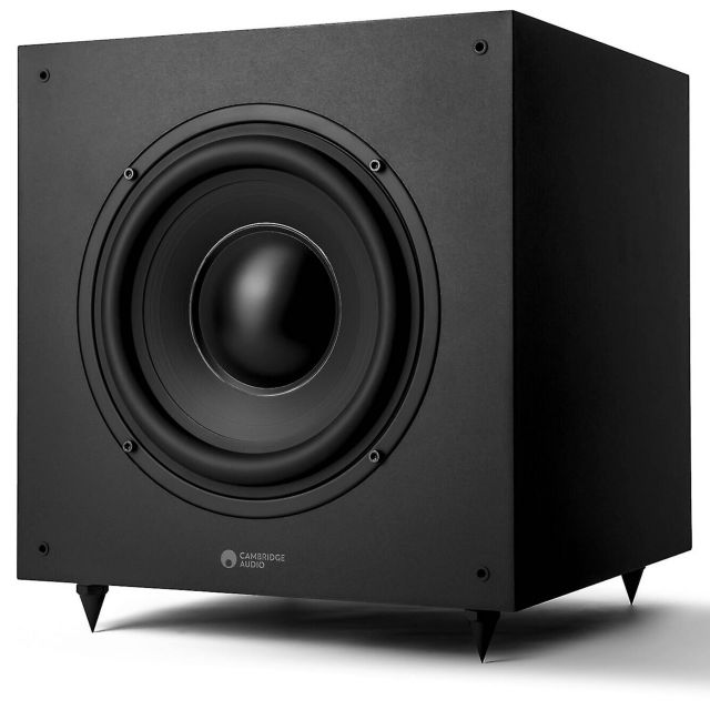 Cambridge Audio SX120 Subwoofer - Front view without grille