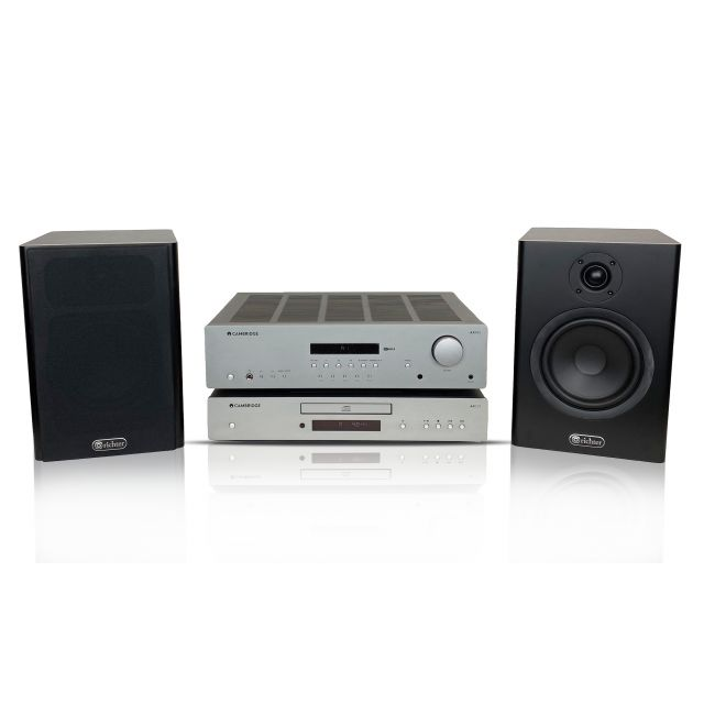 Cambridge AXR85 Receiver, Richter Merlin Speakers Complete Stereo System