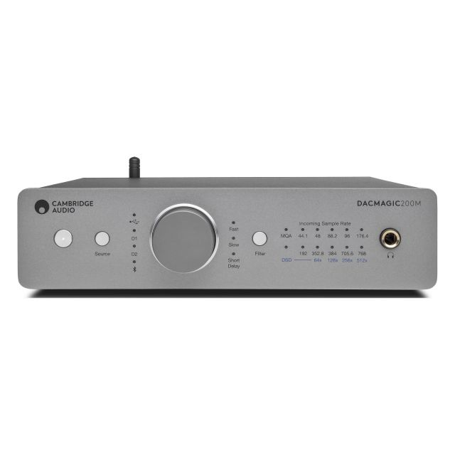 Cambridge Audio DacMagic 200M DAC - Front view