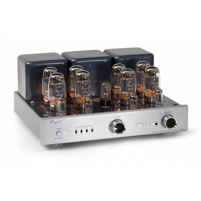 Cayin CS-100A Integrated Valve Amplifier - Front angle view