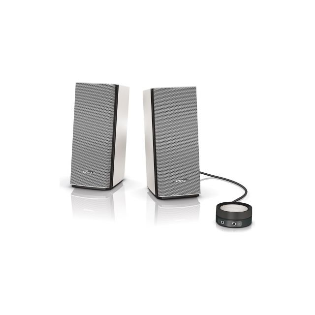 Bose Companion 20 Multimedia Speaker System - Front view.