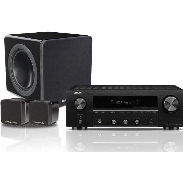 Denon DRA800H Receiver; Cambridge 2.1 Speaker System