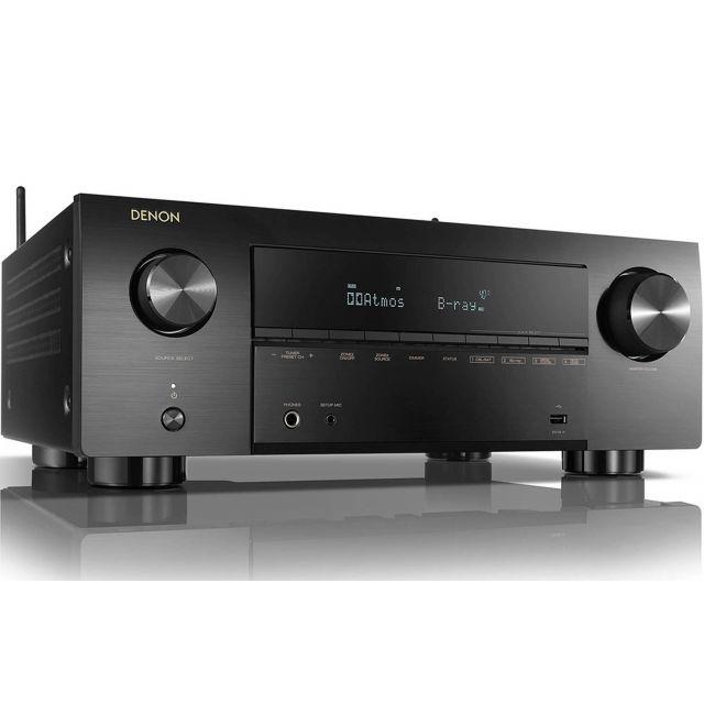 Denon AVC-X3700H Home Theatre Amplifier - Front angle