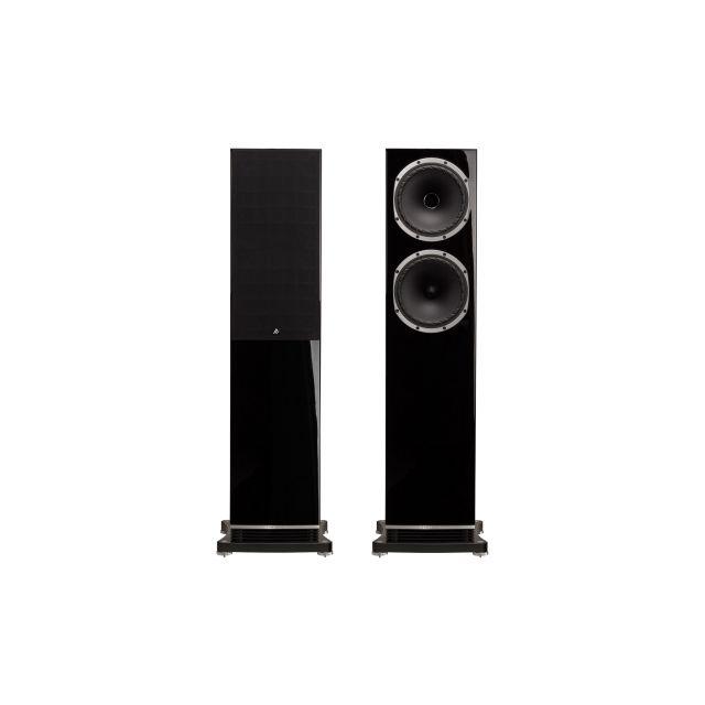 Fyne Audio F502 Floorstanding Speakers - Front view