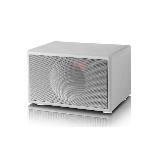 Geneva Classic S FM/DAB+ Bluetooth Speaker - White