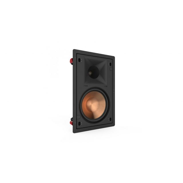 Klipsch PRO-180RPW In-Wall Speakers - Angle view