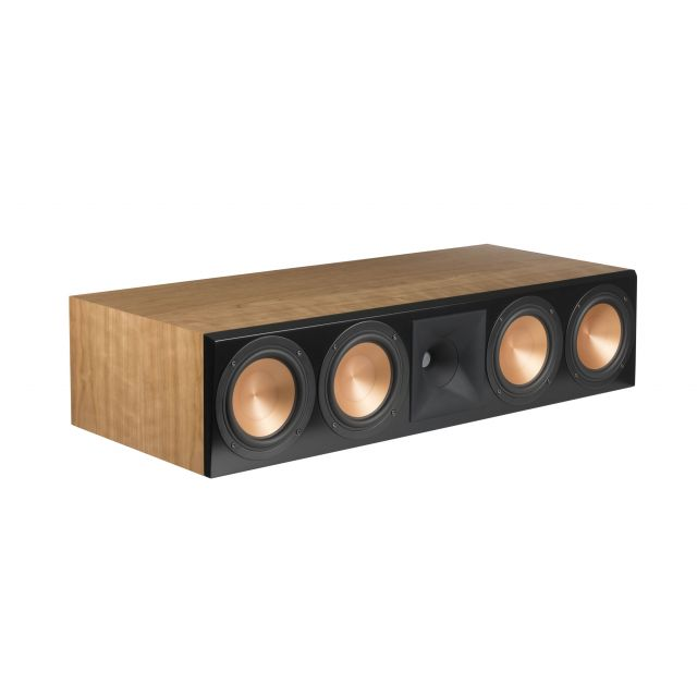 Klipsch RC-64 III Centre Channel Speaker - Front angle view (shown with grille off)