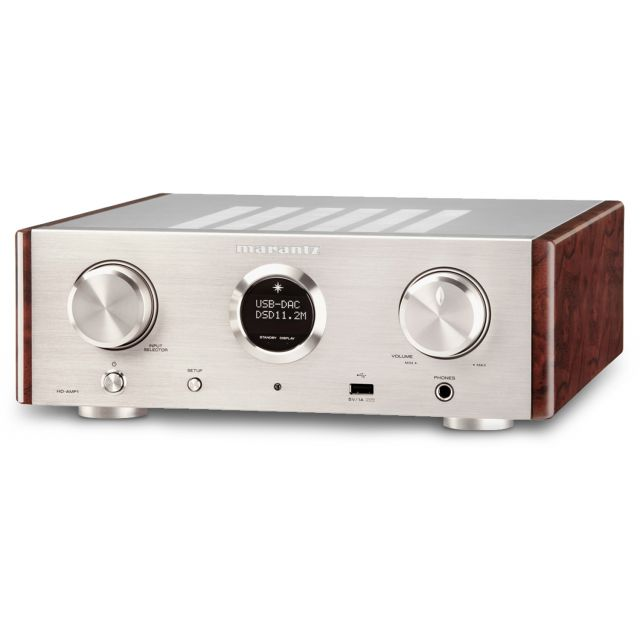 Marantz HD-AMP1 Stereo Integrated Amplifier - Angle view.