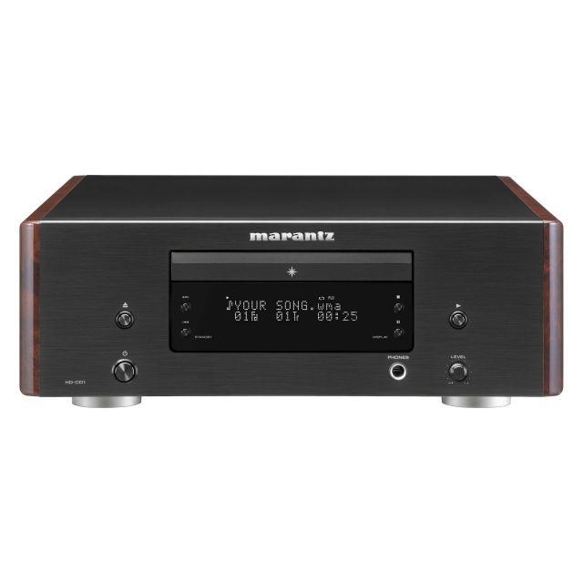 Marantz HD-CD1 Single Compact Disc Player - Front view