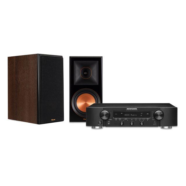 Marantz NR1200 Network Receiver & Klipsch RP-600M Speakers