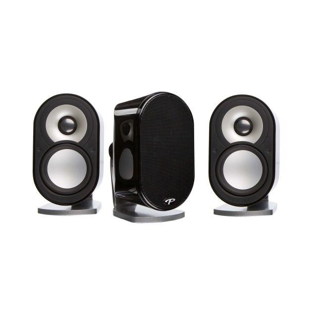 Paradigm MilleniaOne 3.0 On Wall / Shelf Satellite Speakers - Front view