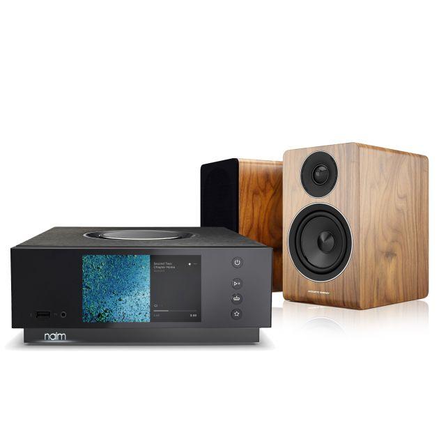 Naim Uniti Atom With Acoustic Energy AE-300 Speakers