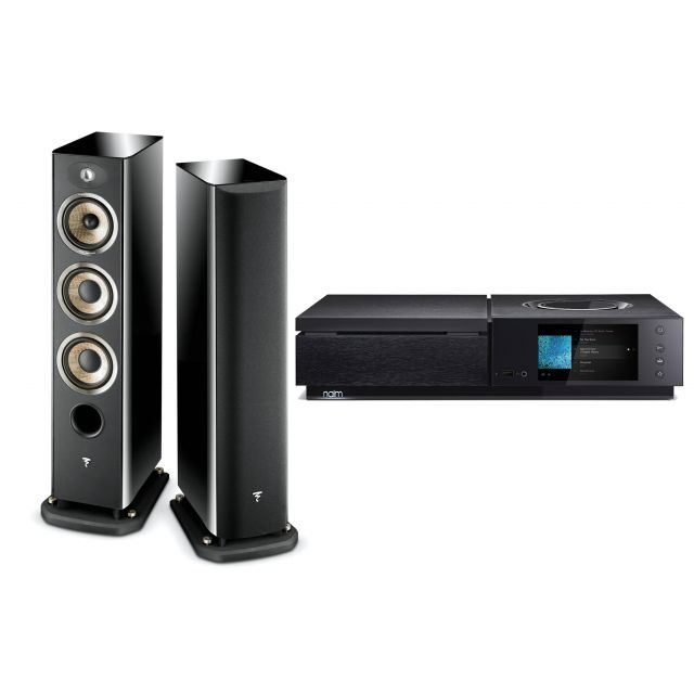 Naim Uniti Star Streaming System With Focal Aria 926 Speakers