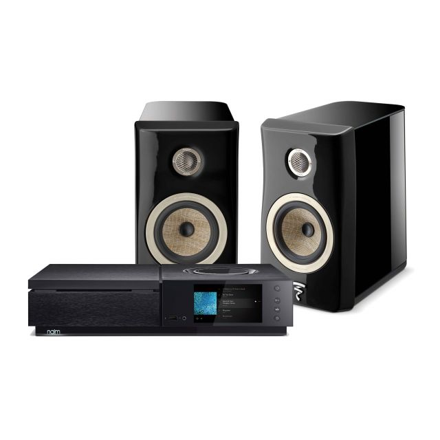 Naim Uniti Star Streaming System Includes Focal Kanta N°1 Speakers and Cable