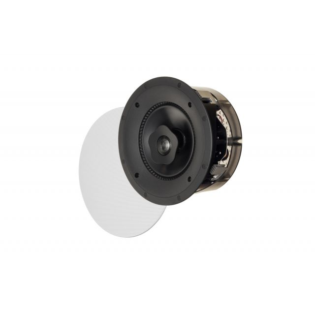 Paradigm E65-R In-Ceiling Speakers - Angle view shown with grille.