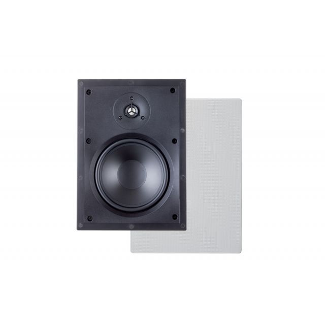 Paradigm H65-IW In-Wall Speakers - Front view.