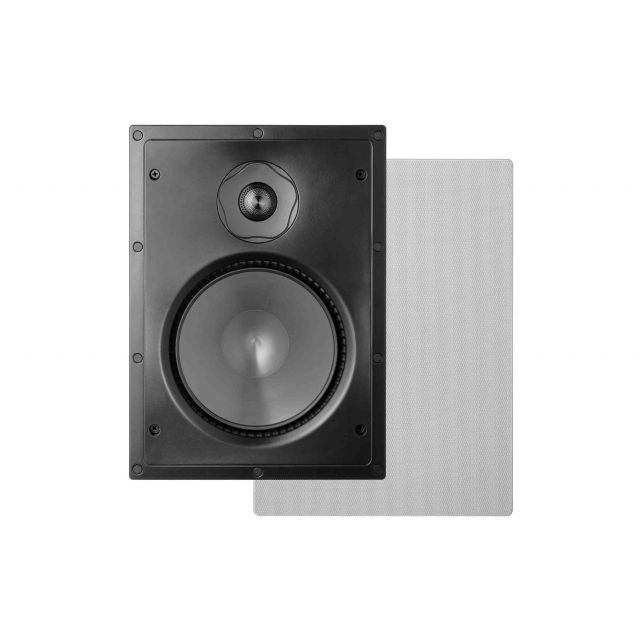 Paradigm P80-IW In-Wall Speakers - Front view with grille.