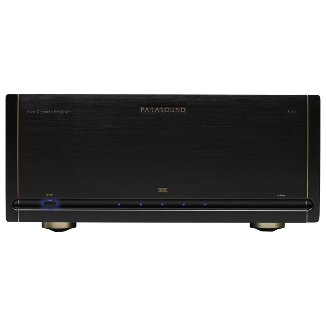 Parasound Halo A 51 Power Amplifier - Front view