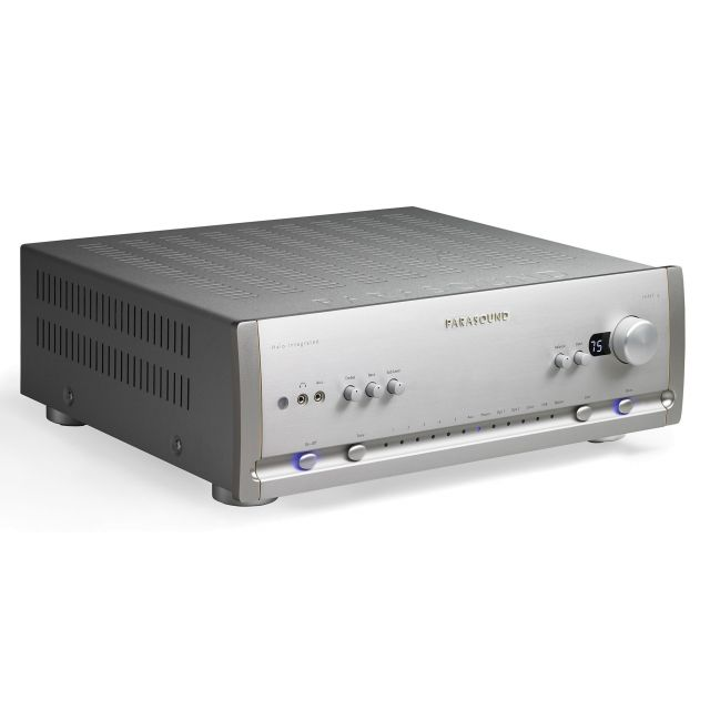 Parasound Halo Hint 6 Stereo Amplifier - Silver