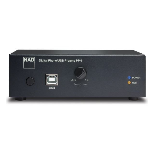 NAD PP4 Phono Pre-Amplifier - Front view.