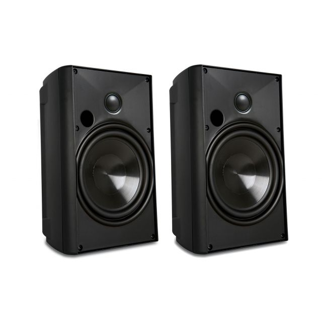 Proficient AW400 Outdoor Speakers - Front view.