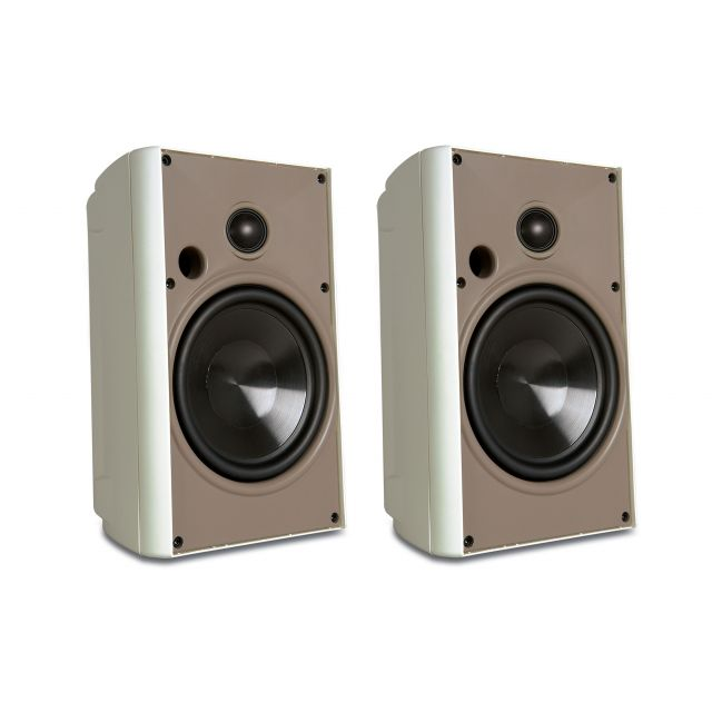 Proficient AW525 Outdoor Speakers - Front view.