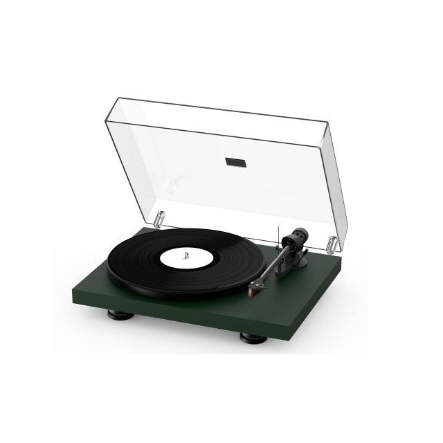 ProJect Debut Carbon EVO Turntable - Satin Fir Green