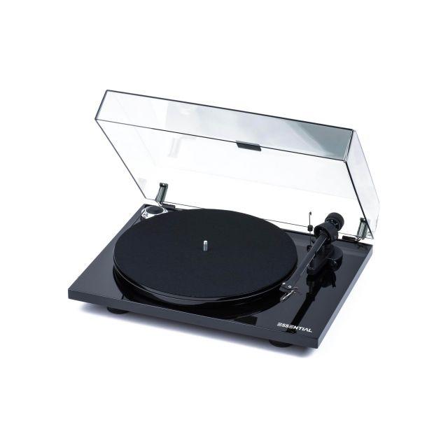 ProJect Essential III Turntable - Gloss Black