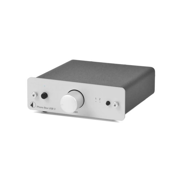 ProJect Phono Box USB - Front view.