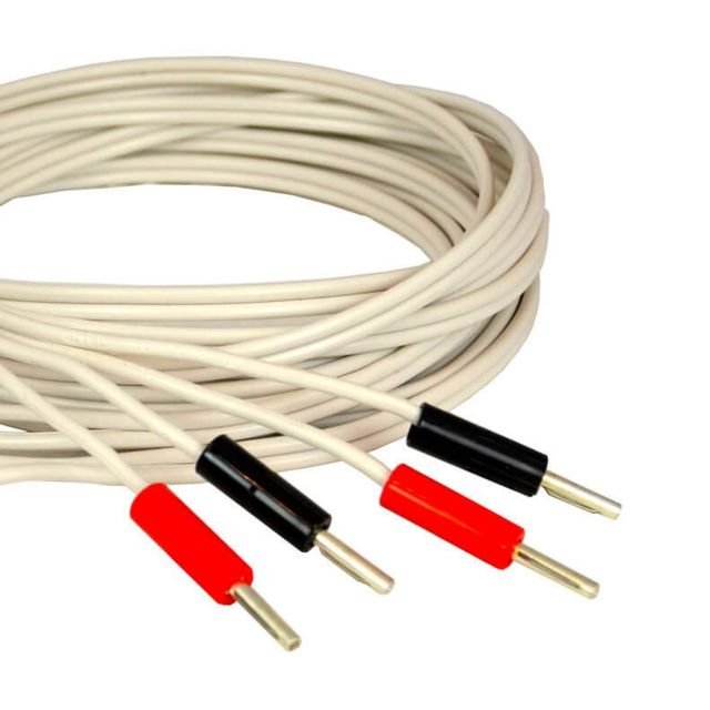QED Profile 79 Strand Speaker Cable - 2 metre terminated single (pair pictured)