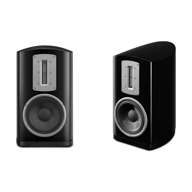 Quad Z-2 Bookshelf Speakers - Displayed without grilles. Yes, they are included!